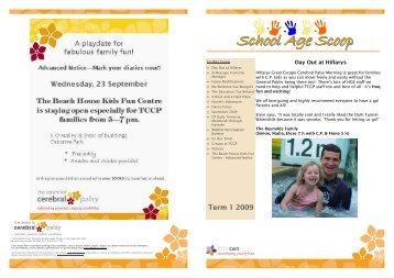 February 2009 - The Centre for Cerebral Palsy
