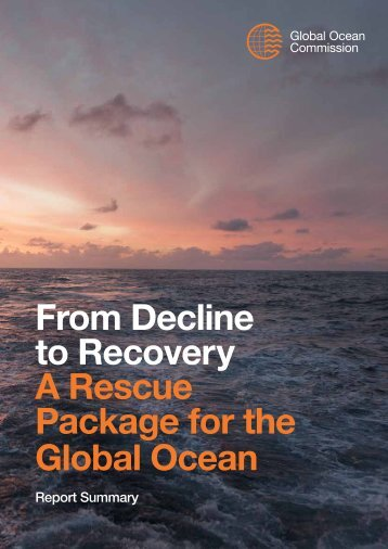 A Rescue Package for the Global Ocean