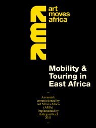 Mobility & Touring in East Africa 2011