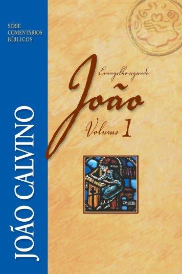 Comentário Evangelho Segundo João - Vol. 1