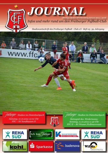Heft 05 FFC - SV Sandhausen II