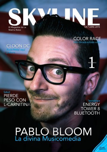 Revista Skyline n1 octubre