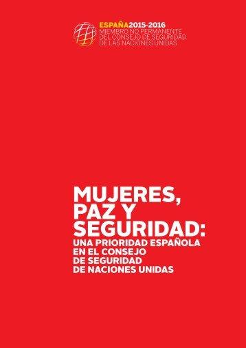 MUJERES PAZ Y SEGURIDAD