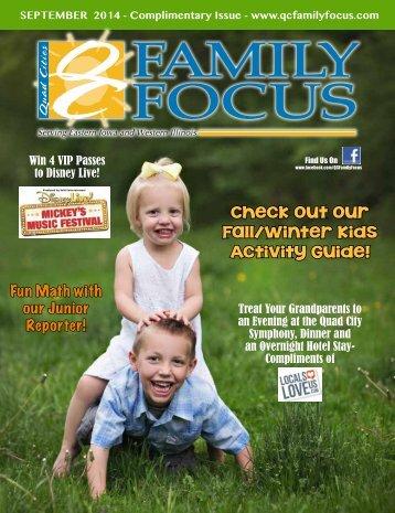 QC Family Focus: September 2014