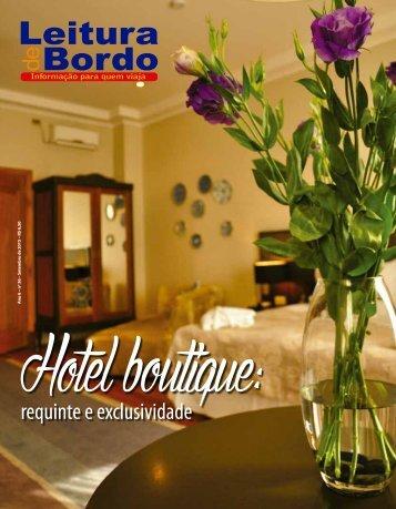 Leitura de Bordo - Edição 36 - Hotel Boutique