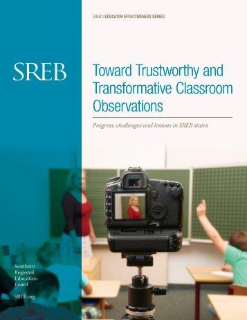 Toward Trustworthy and Transformative Classroom Observations