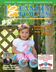 QC Family Focus: August 2015