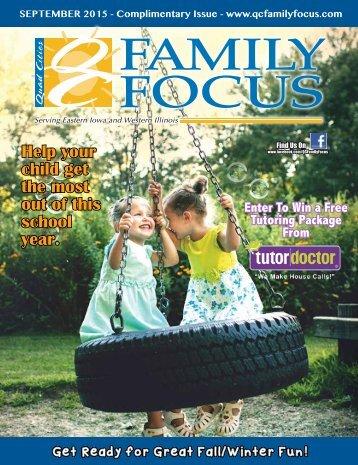 QC Family Focus: September 2015