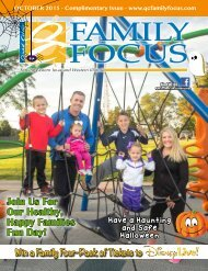 QC Family Focus: October 2015