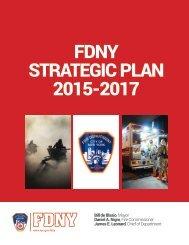 FDNY STRATEGIC PLAN 2015-2017