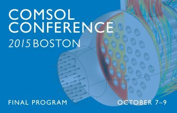 COMSOL CONFERENCE