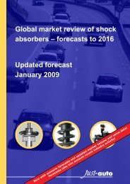 Global market review of shock absorbers - Just-Auto.com