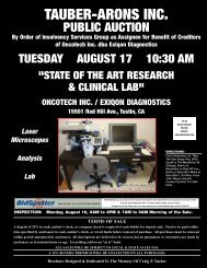 Analysis – Lab ONCOTECH INC. / EXIQON DIAGNOSTICS ...