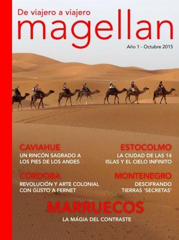 Revista de viajes Magellan - Octubre 2015