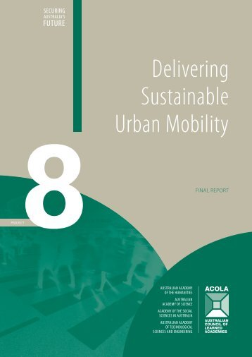 Delivering Sustainable Urban Mobility