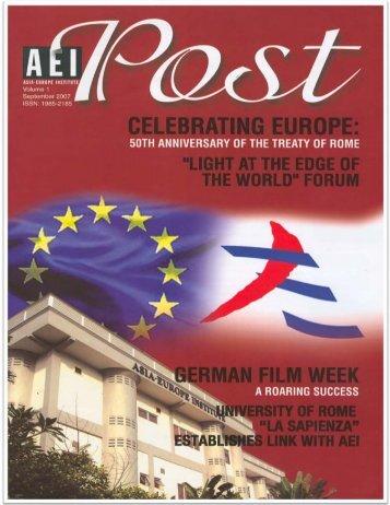 AEI Post Vol 1 - 2007