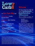 Welcome Low Carb Mag - Page 2