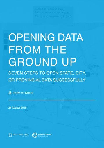 Opening Data from the Ground Up