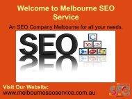 Most Preferred SEO Company in Melbourne   Melbourne SEO Agency