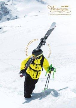 Prospekt Vierjahreszeiten Bergwinter/Gletscherfrühling 2017/18