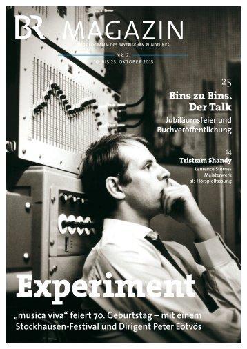 BR-Magazin 21/2015
