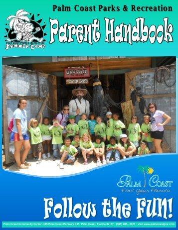 Parent Handbook - City of Palm Coast