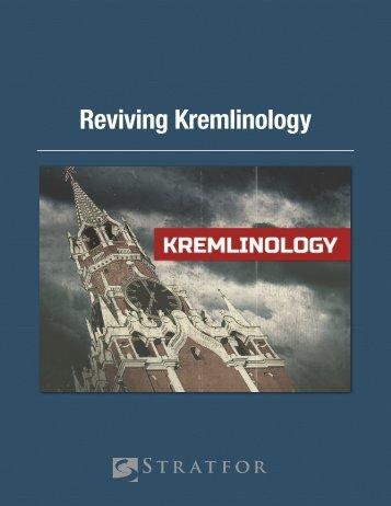 United States Reviving Kremlinology