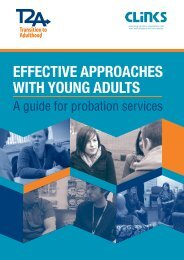 Effective approaches with young adults
