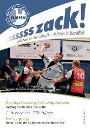 Ssssssszack! HGHB vs. TSV Hürup