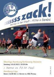 Ssssssszack! HGHB vs. FC St. Pauli