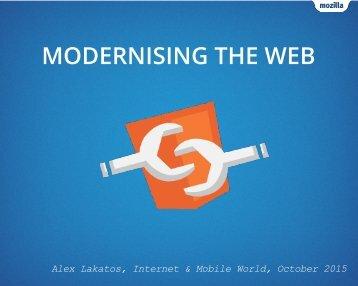 MODERNISING THE WEB