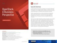 OpenStack A Business Perspective