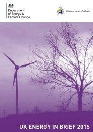 UK ENERGY IN BRIEF 2015