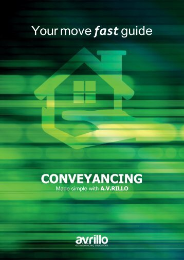 Your move fast guide CONVEYANCING