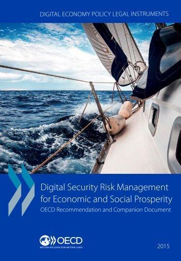 Digital Security Risk Management for Economic and Social Prosperity