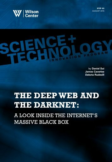 THE DEEP WEB AND THE DARKNET