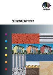Fassaden gestalten - Caparol