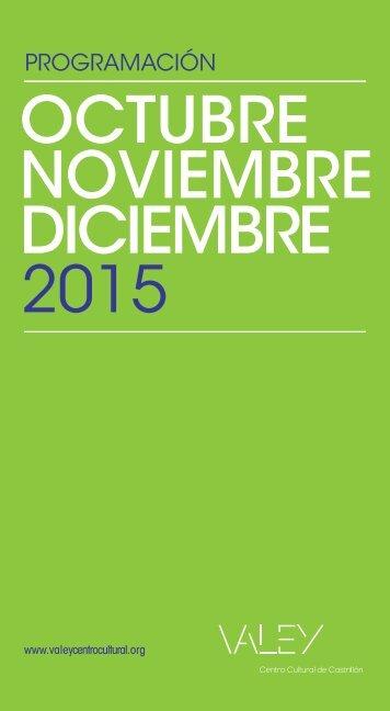 NOVIEMBRE DICIEMBRE 2015