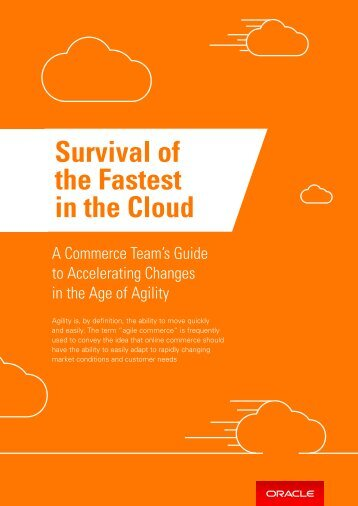 Survival of the Fastest in the Cloud