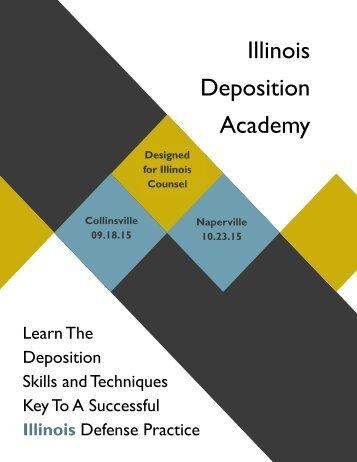 Illinois Deposition Academy