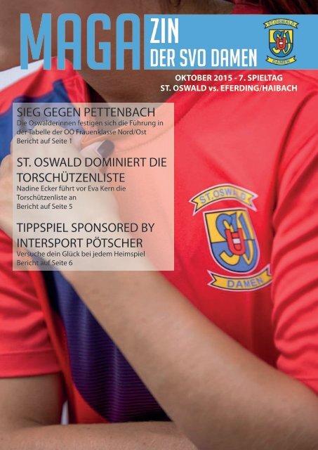 Magazin der SVO DAMEN 7.Spieltag