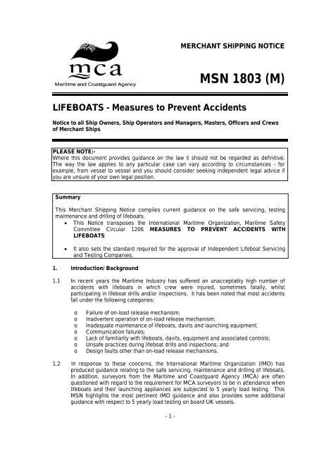 MSN 1803 (M) - GL Group