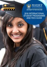 2016 INTERNATIONAL STUDENT PROGRAMME AND FEES GUIDE