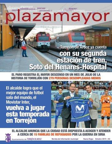 con su segunda estación de tren Soto del Henares-Hospital
