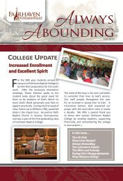 Always Abounding - Fall 2015