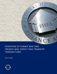 OVERVIEW OF FANNIE MAE AND FREDDIE MAC CREDIT RISK TRANSFER TRANSACTIONS