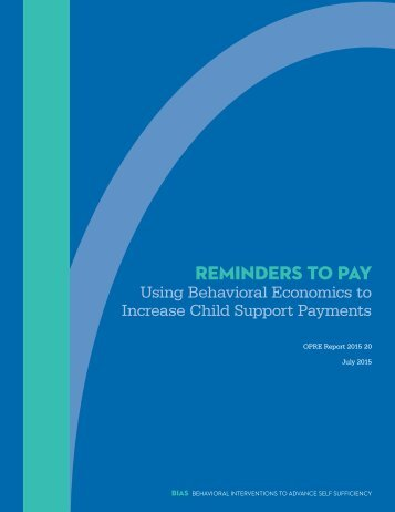 REMINDERS TO PAY