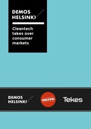 Cleantech takes over consumer markets