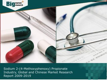 Sodium 2-(4-Methoxyphenoxy) Propionate Industry: Global and Chinese Market Research Report 2009-2019