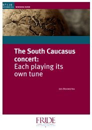 The South Caucasus concert Each playing its own tune